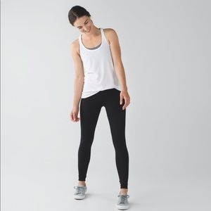 Lululemon Black Wunder Under Leggings size 6